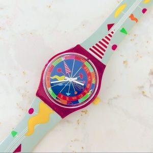 Vintage Unisex Swatch Watch